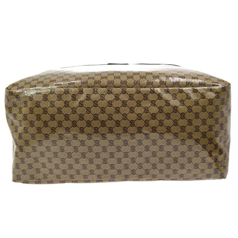 baaf94379eb7 Women s or Men s Gucci Monogram Men s Women s Travel Duffle Carryall  Weekender Shoulder Tote Bag For Sale
