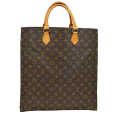Lous Vuitton Monogram Canvas Men's Women's Carryall Travel Top Handle Tote Bag