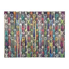 LV Louis Vuitton Takashi Murakami Canvas Poster Silk Screen LIMITED