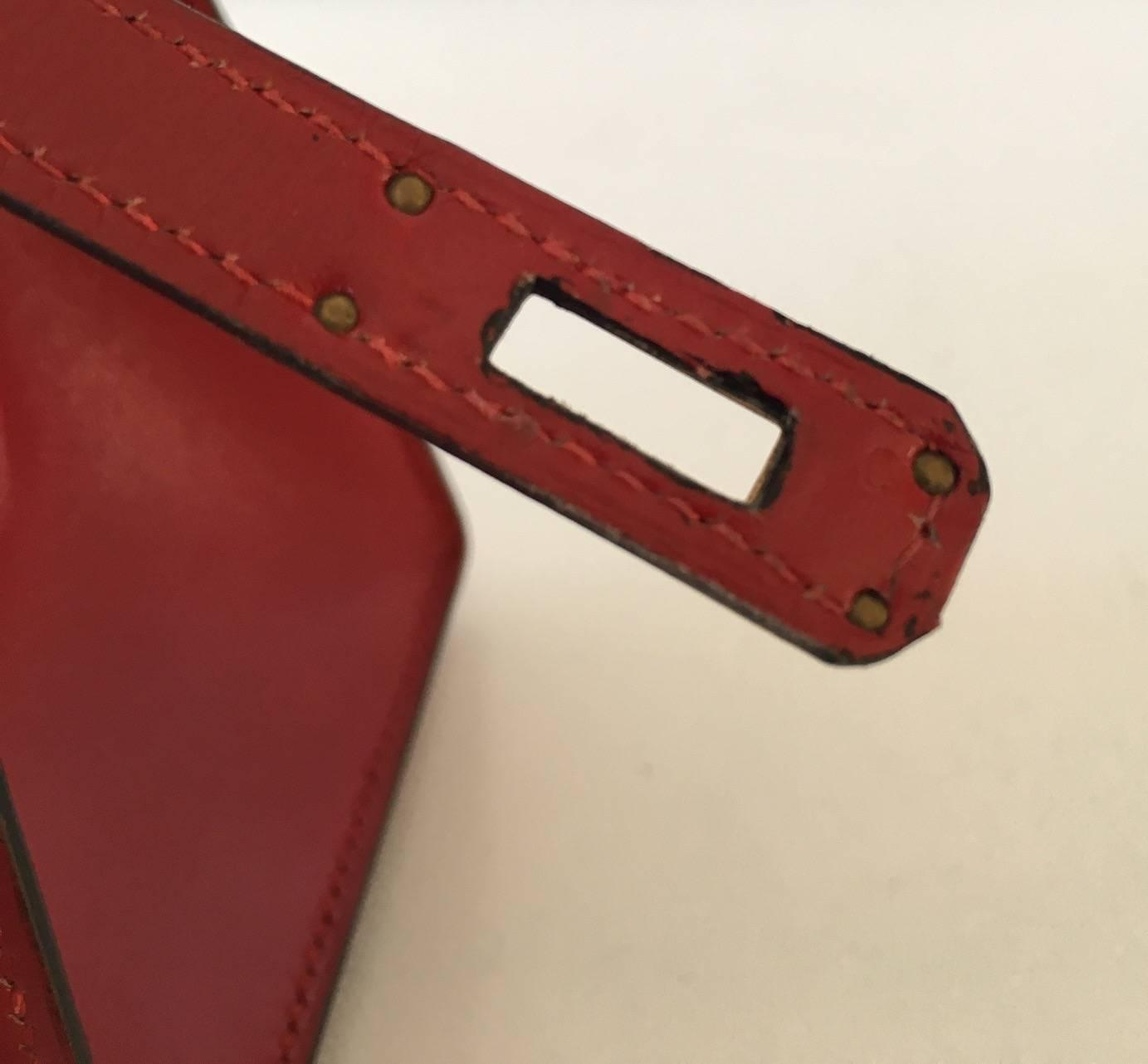 hermes kelly box rouge
