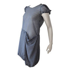 Early Comme des Garcons Dress graphic