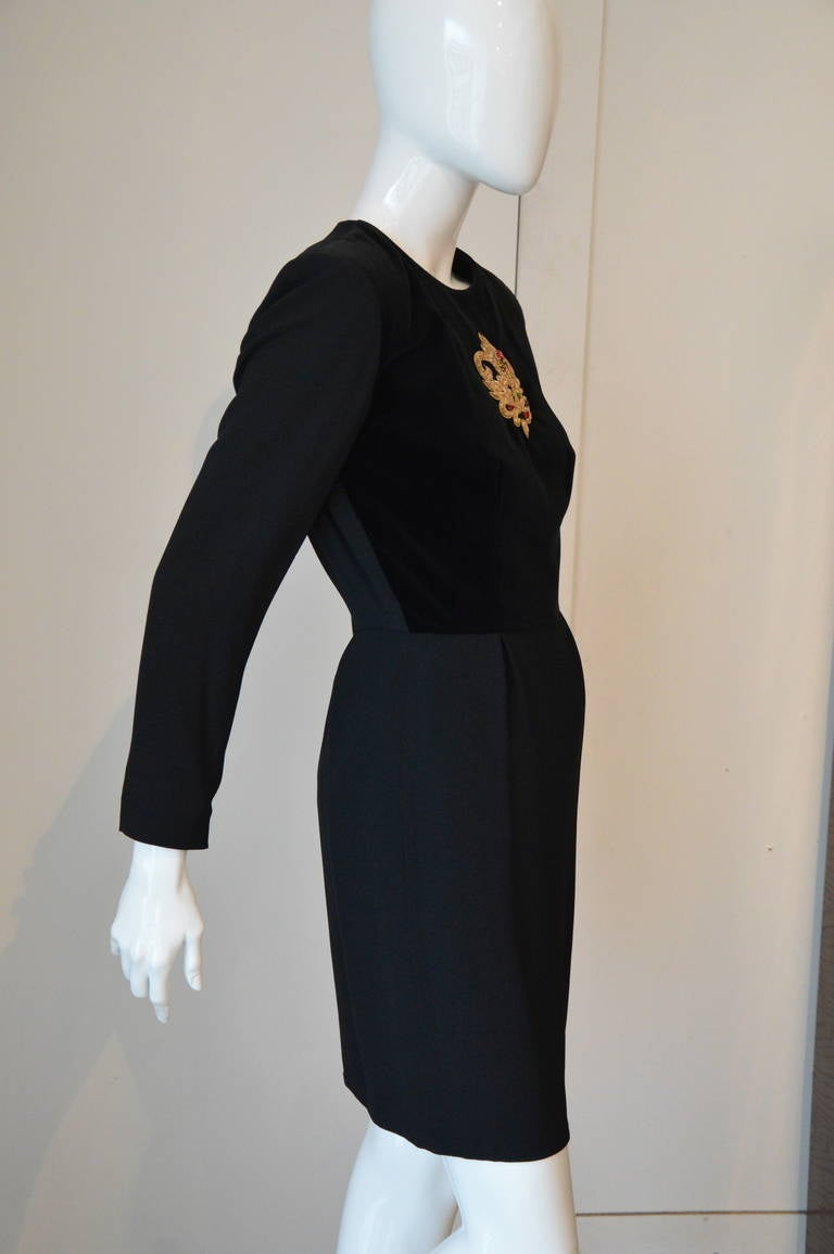 1980s Givenchy Diner Dress 2