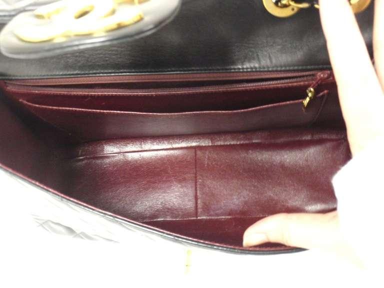 CHANEL XL Jumbo Maxi 2.55 34CM Flap Lambskin Handbag image 7