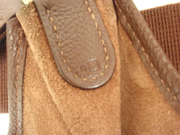 Hermes Evelyne PM Brownish Red Epsom Leather GHW Shoulder Bag ...