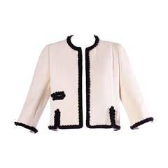 Burke-Amey Vintage 1960s 60s Pristine Wool Suit or Blazer Jacket