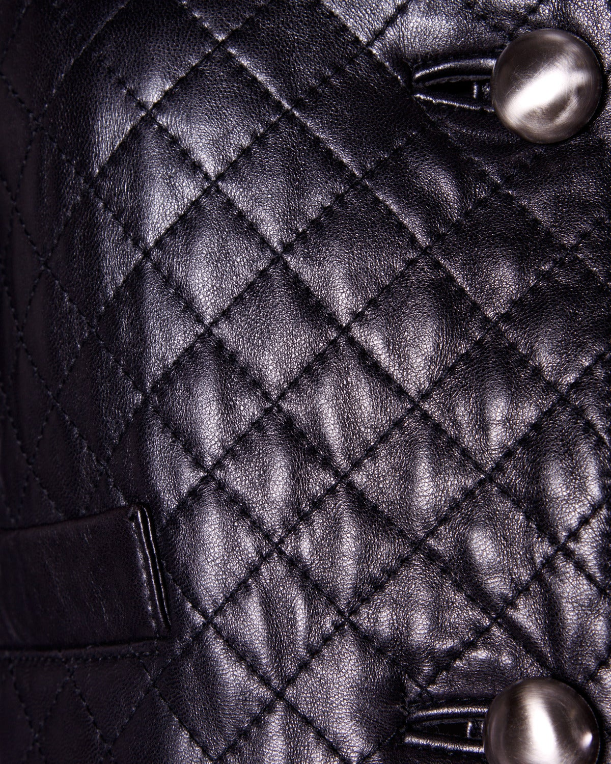 Women's Unworn Michael Hoban for North Beach Leather Vintage Quilted Ensemble For Sale