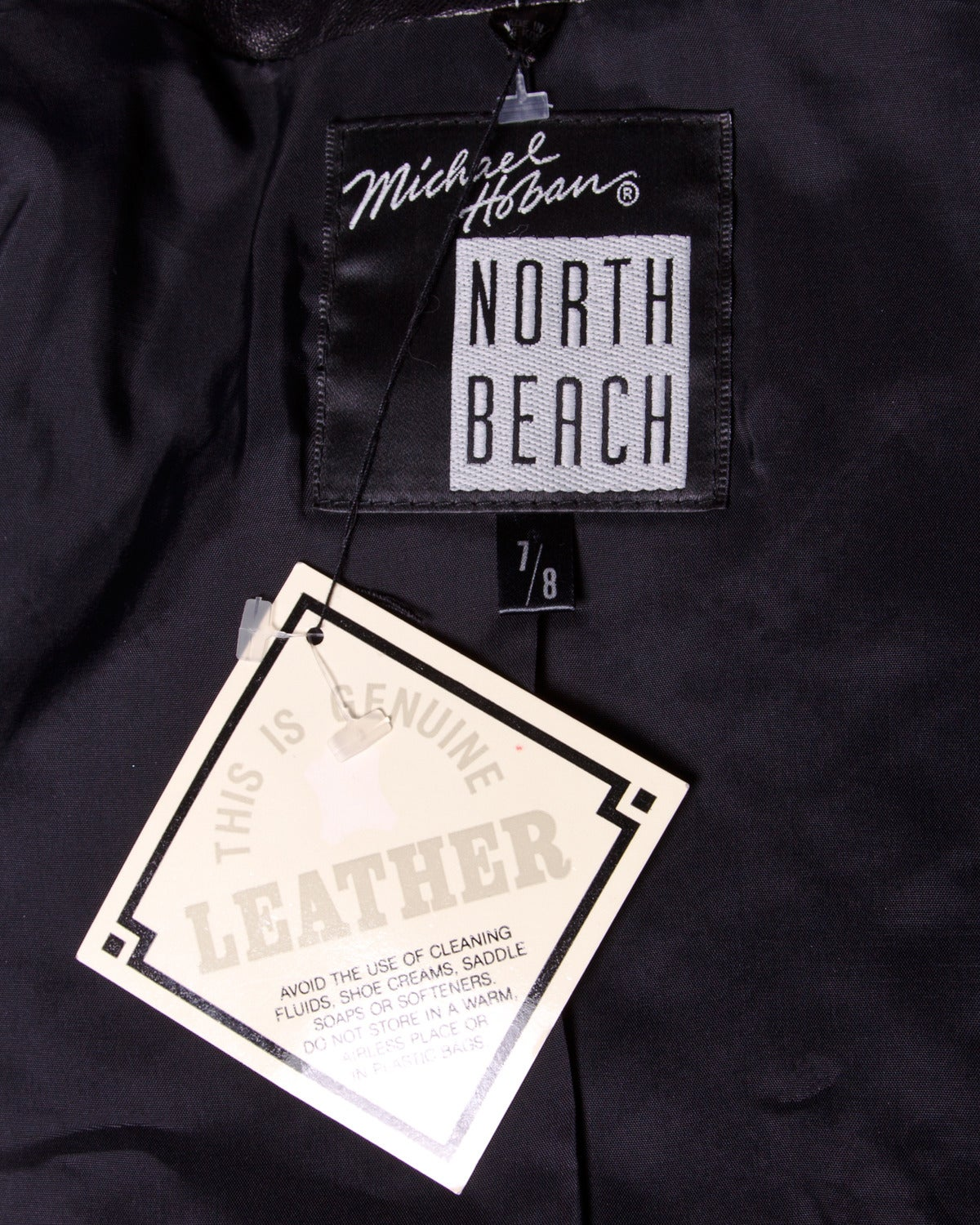 Unworn Michael Hoban for North Beach Leather Vintage Quilted Ensemble For Sale 2