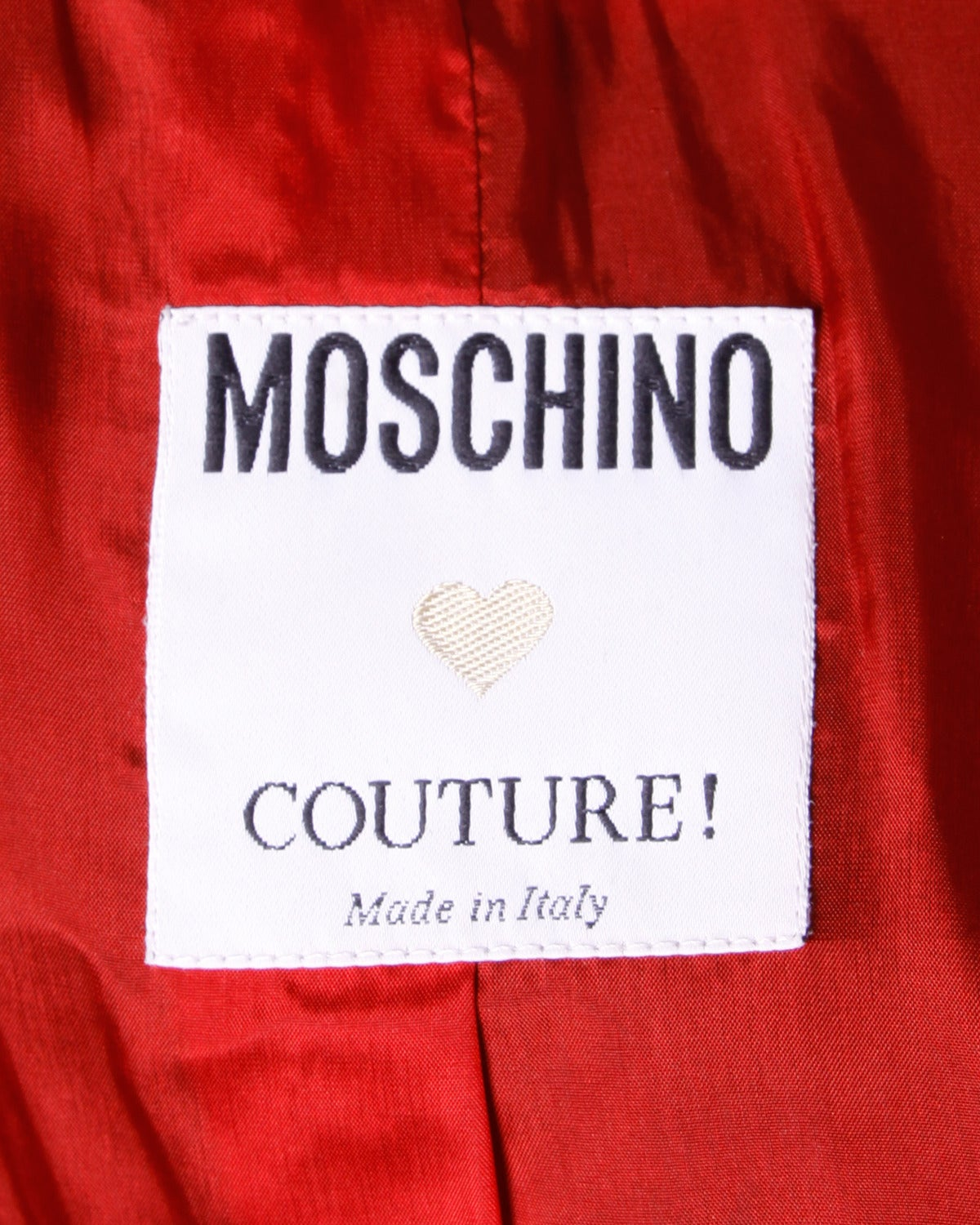 Moschino Couture! Vintage 1990s 90s Color Block Dart Board Blazer Jacket 8