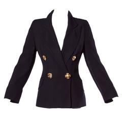 1991 Franco Moschino Pre-Death Vintage 1990s 90s Blazer Jacket