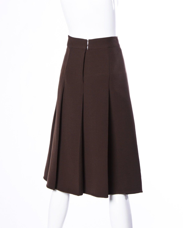 Renato Balestra Vintage 1960s 60s Italian Couture Wool