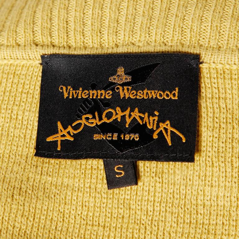 Vivienne Westwood Anglomania Two Toned Cardigan Sweater Jacket 3