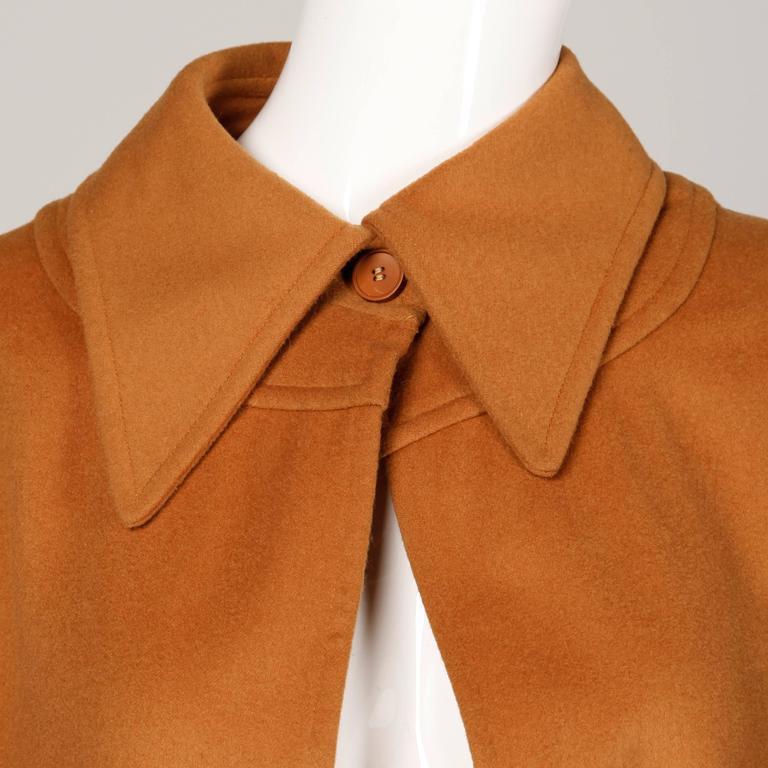 Women's 1970s Emanuel Ungaro Vintage Cape Coat For Sale