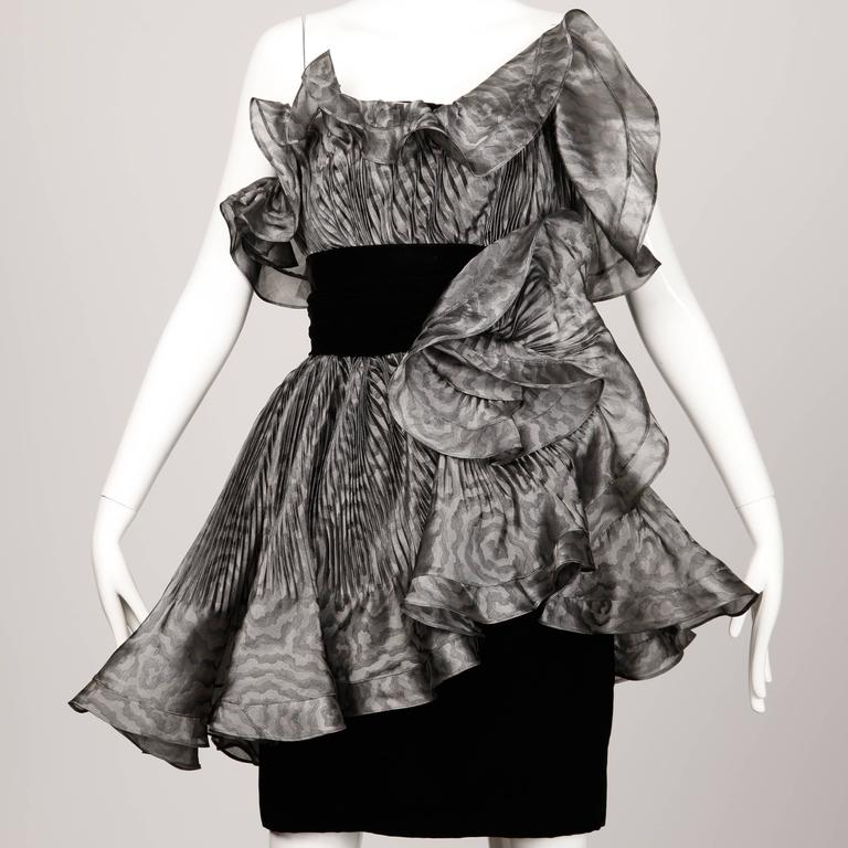 Bernard Perris Vintage Dress For Sale 4