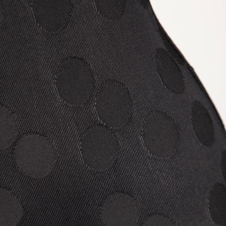 Women's Alaia Vintage 1990s Black Polka Dot Dress For Sale