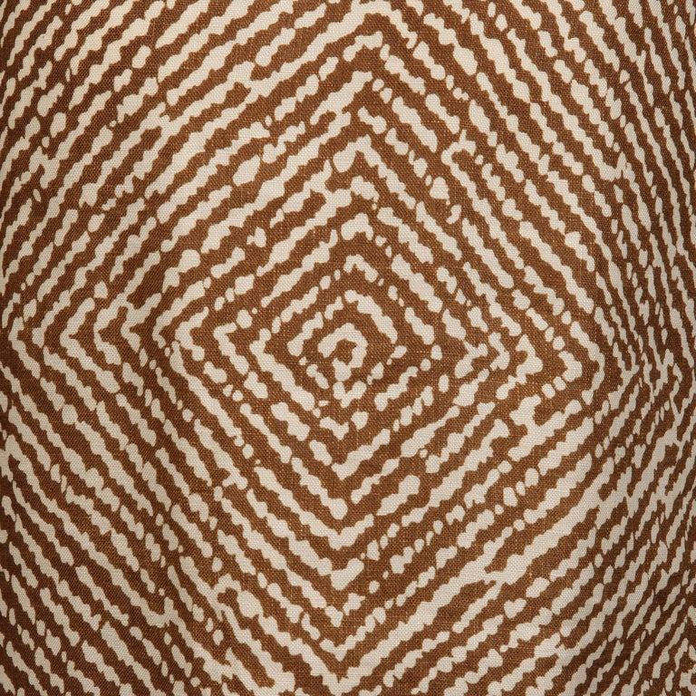 1960s Geoffrey Beene Vintage Brown 3-Piece Linen Skirt, Vest, Belt Suit Ensemble For Sale 5