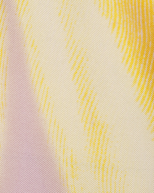 Gianni Versace Couture Vintage 1990s Ombre Pastel Silk Sheath Dress 5