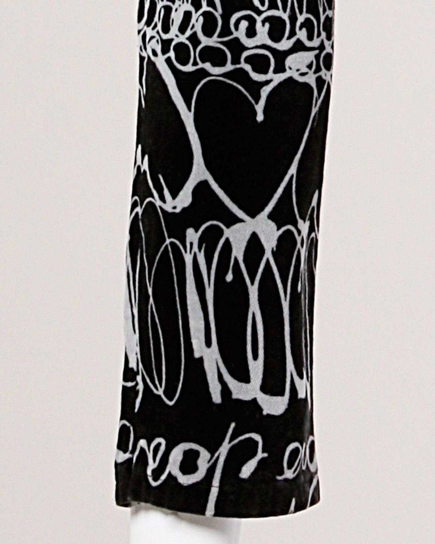 Moschino Vintage 1990s 90s Velour