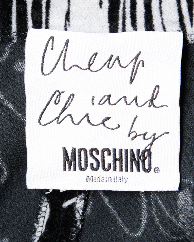 Women's Moschino Vintage 1990s 90s Velour