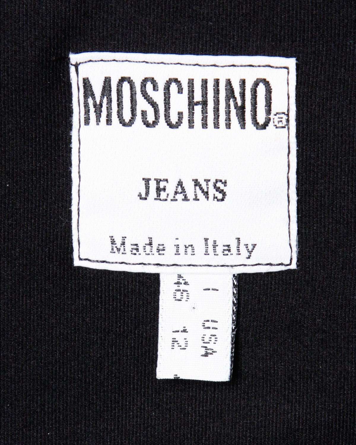 "Moschino Vintage 1990s 90s ""Fashion is No More..."" Maxi Dress 7"