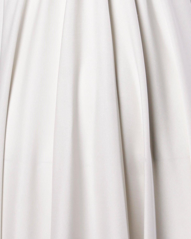 Lilli Diamond Vintage 1970s Pale Gray Beaded Empire Maxi Dress For Sale 2