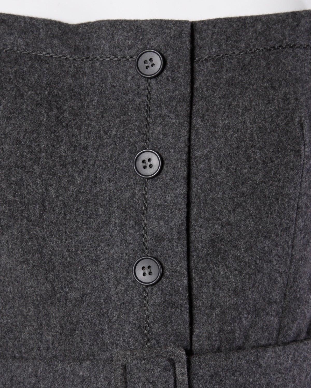 Jean Patou Vintage 1960s Wool 3-Piece Belt, Wrap & Dress Ensemble 4