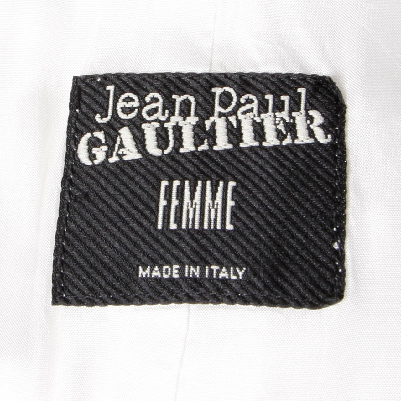 Jean Paul Gaultier Iconic Vintage Straitjacket Belted Bondage Dress For Sale 5