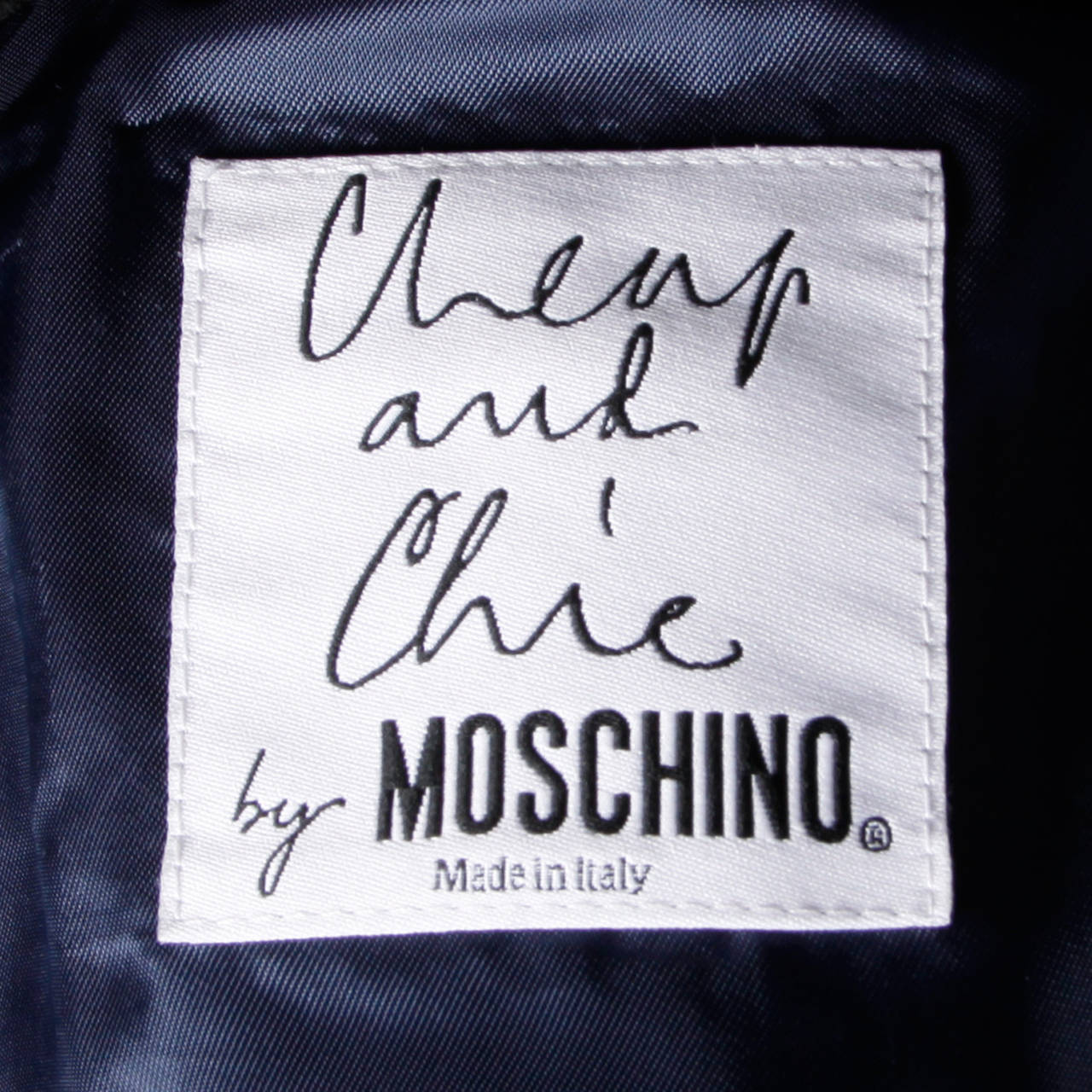 Moschino Vintage 90s Polka Dot Patchwork Skirt + Jacket Suit Ensemble For Sale 3