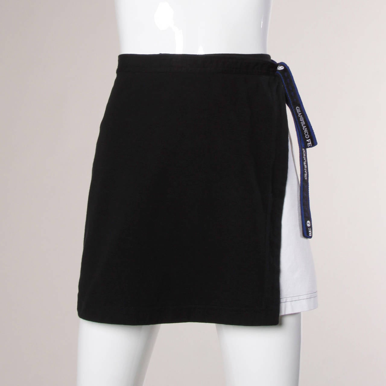 Gianfranco Ferre Vintage Sporty Color Block 2-Piece Skirt + Top Ensemble 8