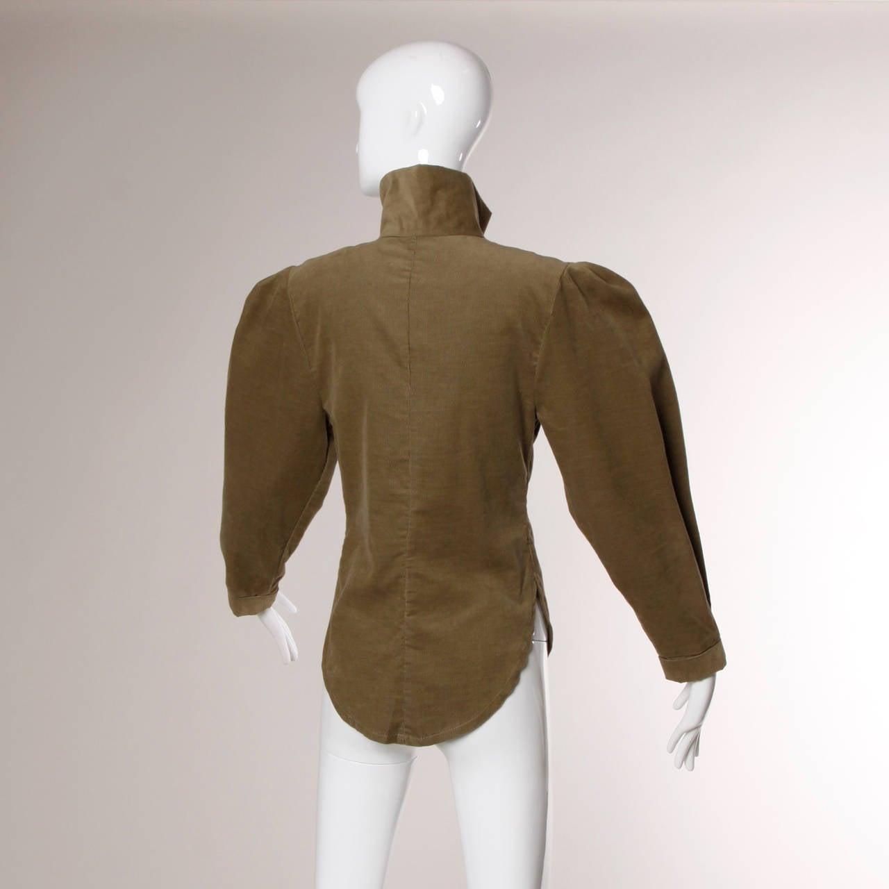 Norma Kamali Vintage Avant Garde Top or Jacket For Sale 1