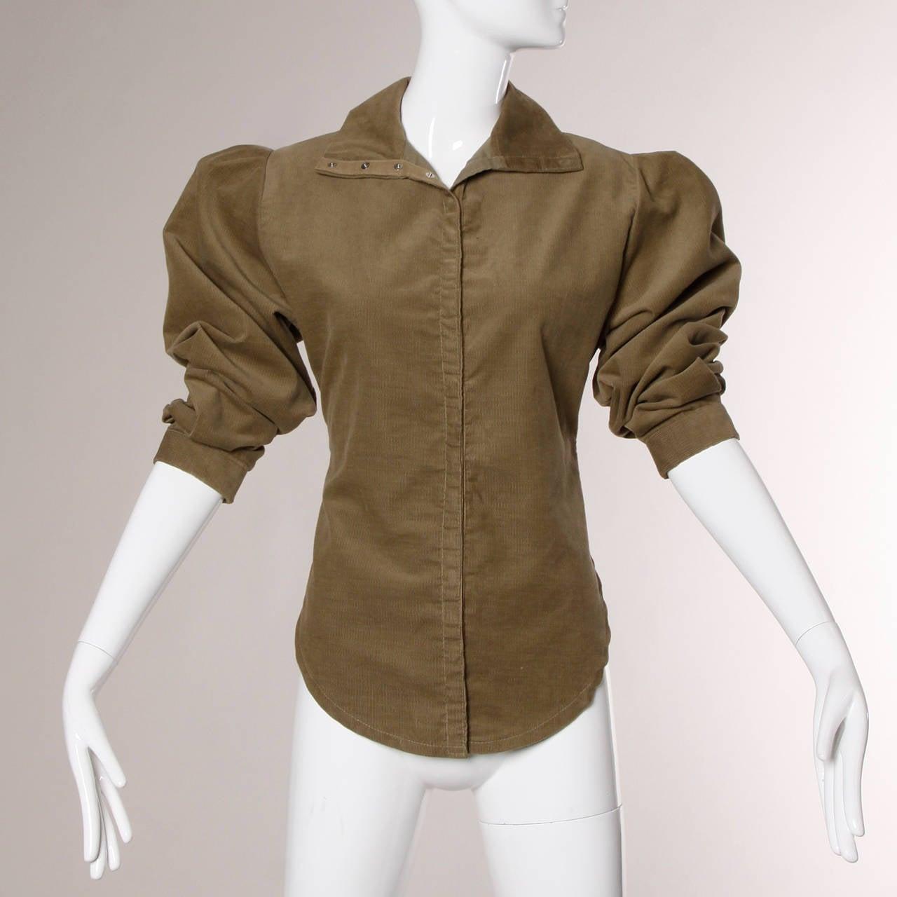 Women's Norma Kamali Vintage Avant Garde Top or Jacket For Sale