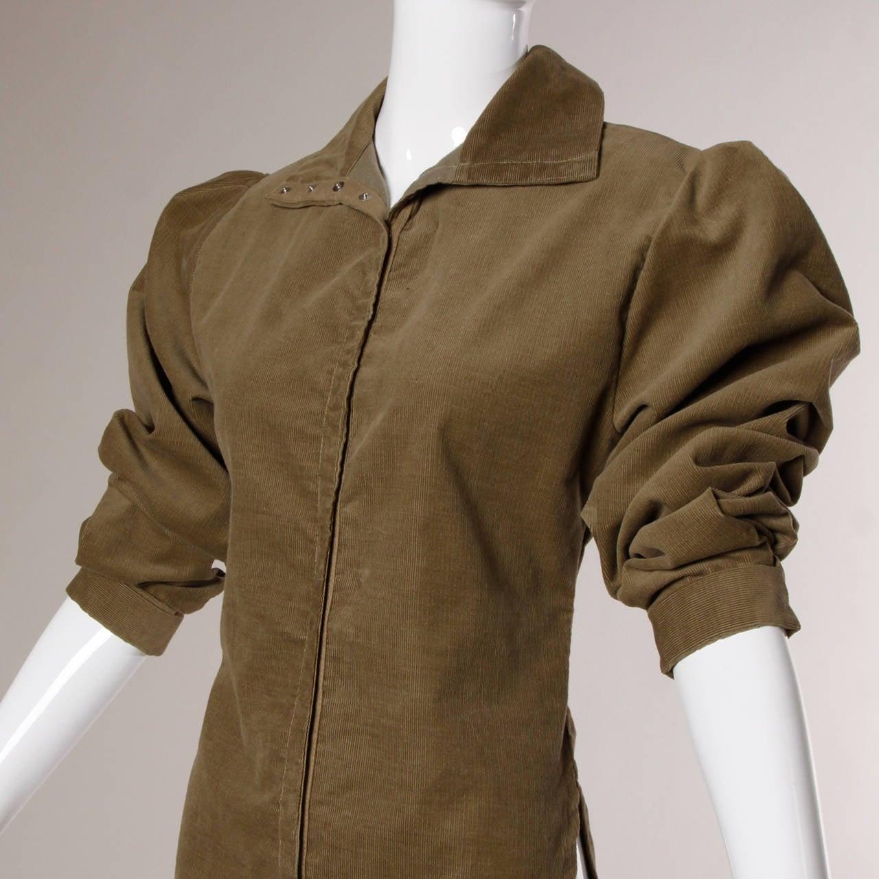 Norma Kamali Vintage Avant Garde Top or Jacket For Sale 3