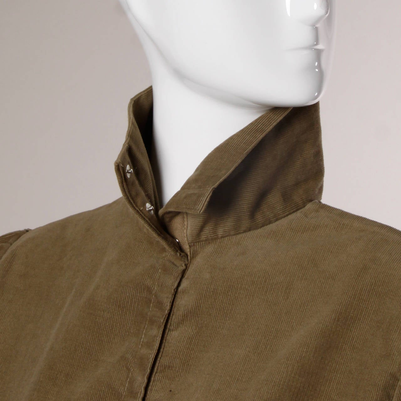 Brown Norma Kamali Vintage Avant Garde Top or Jacket For Sale