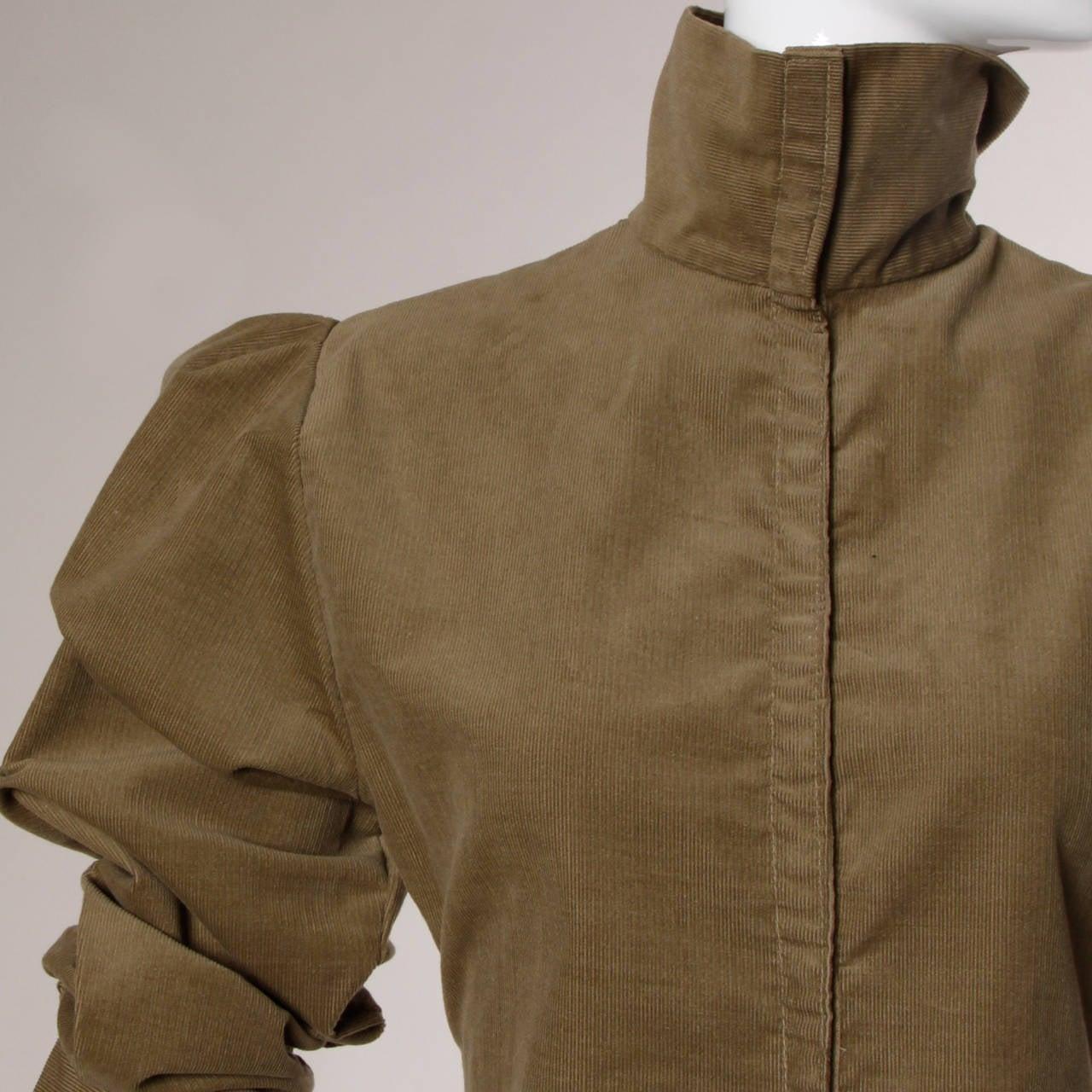 Norma Kamali Vintage Avant Garde Top or Jacket For Sale 2