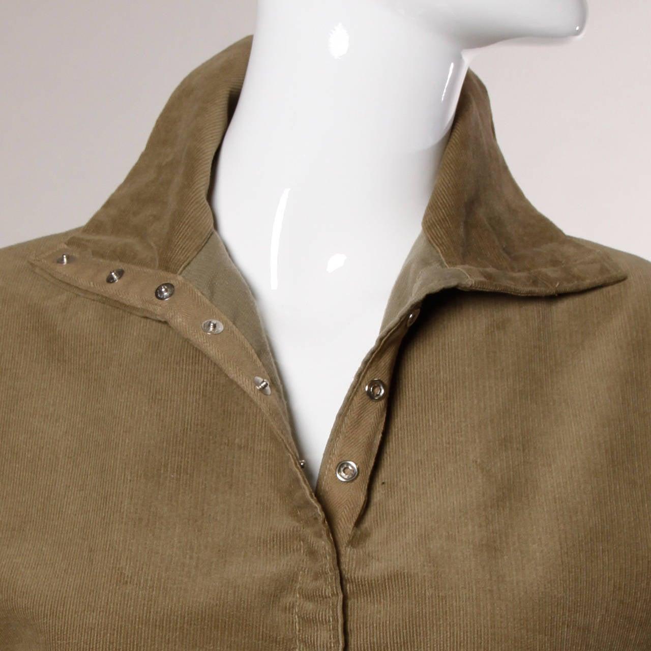 Norma Kamali Vintage Avant Garde Top or Jacket For Sale 5