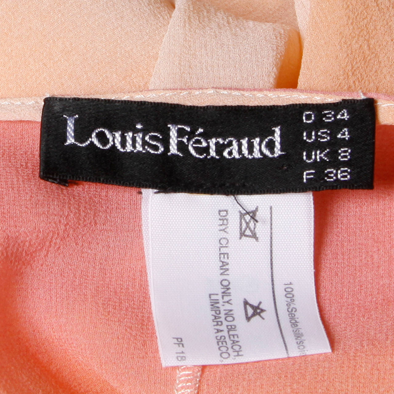 Louis Feraud Vintage Ombre Silk Kimono Duster or Maxi Coat 7