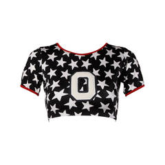 1996 Iconic OMO Norma Kamali Crop Top as Worn in the Movie Clueless