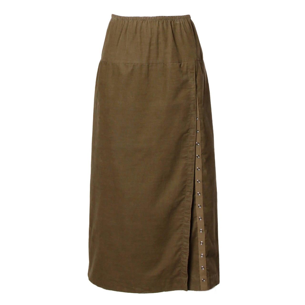 Norma Kamali Vintage Avant Garde Skirt