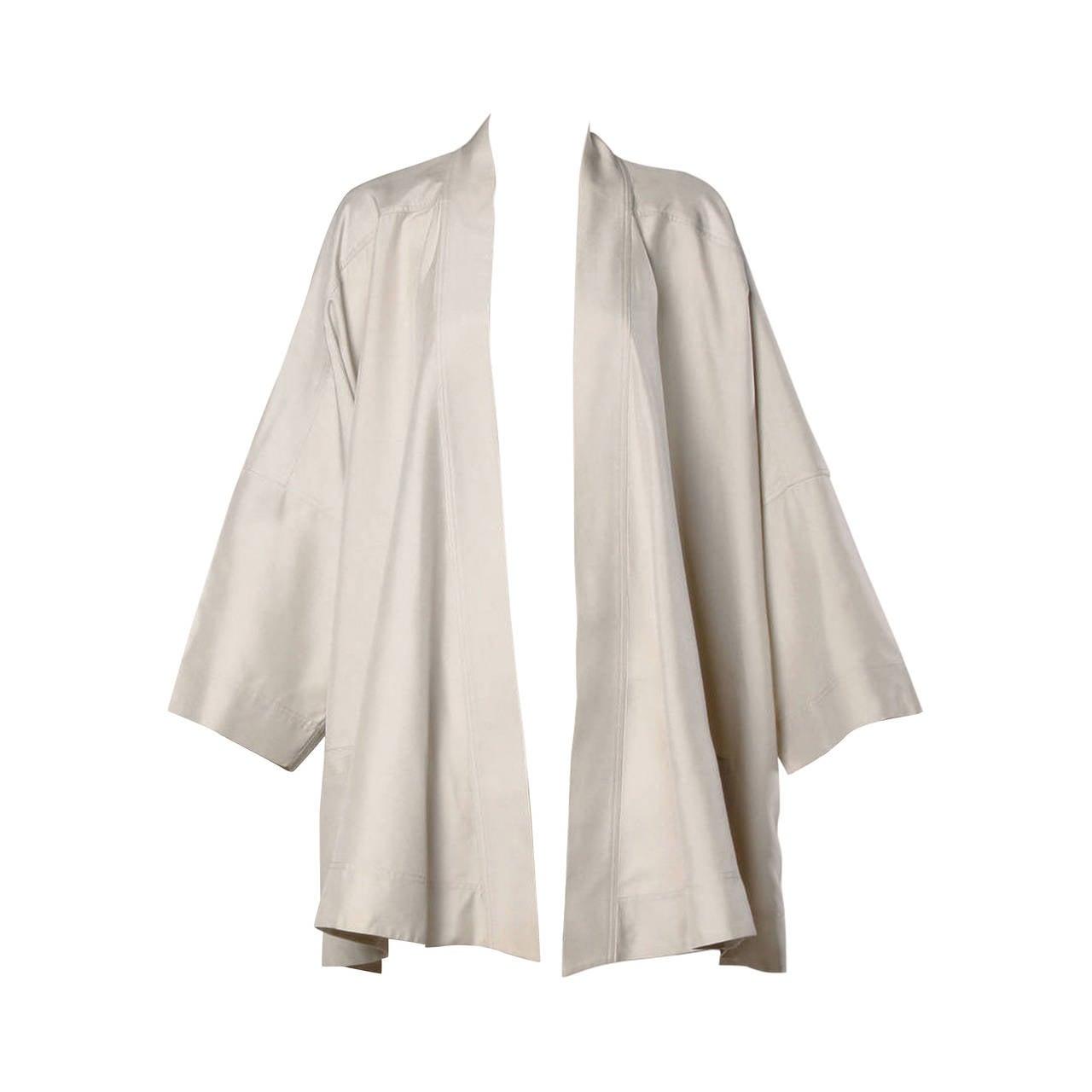 Stunning Salvatore Ferragamo Vintage Silk Kimono Jacket or Swing ...
