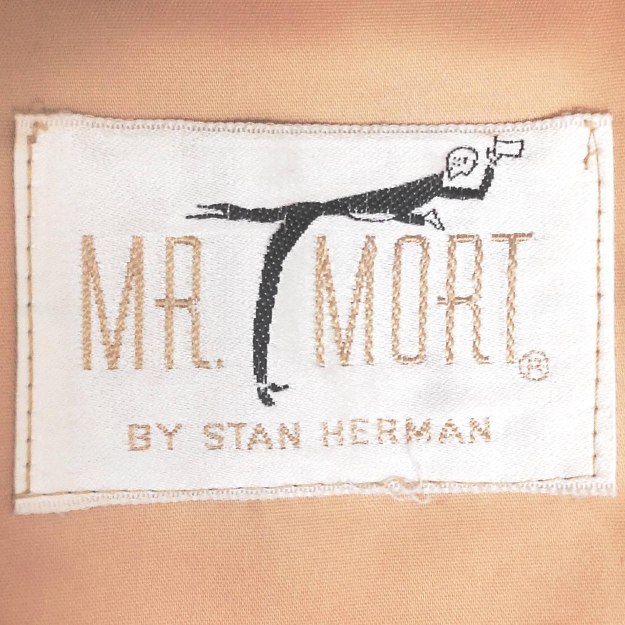 Mr. Mort Vintage 1960s Metallic Gold Lurex Coat Dress In Excellent Condition For Sale In Sparks, NV