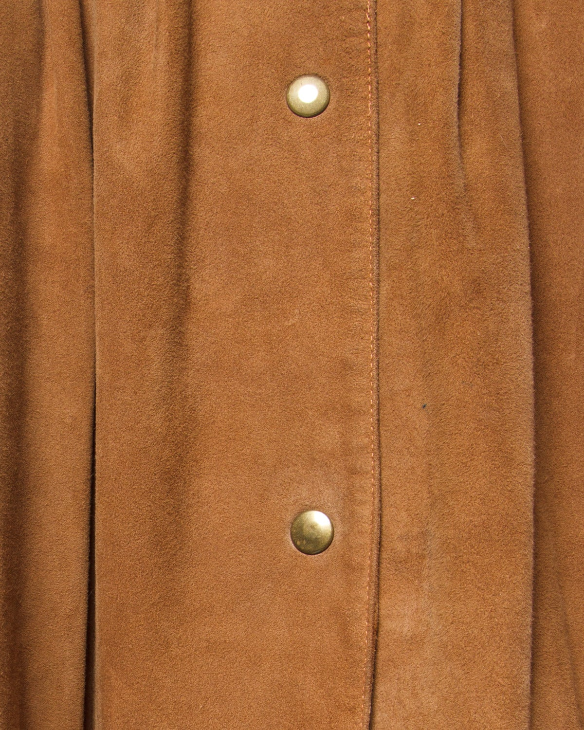 Women's Claude Montana pour Ideal Cuir Vintage 1980s 80s Brown Leather Skirt For Sale