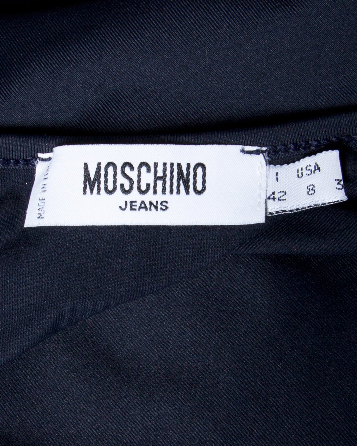 "Moschino Jeans ""2000 so what?"" Y2K Millennium Maxi Dress For Sale 2"