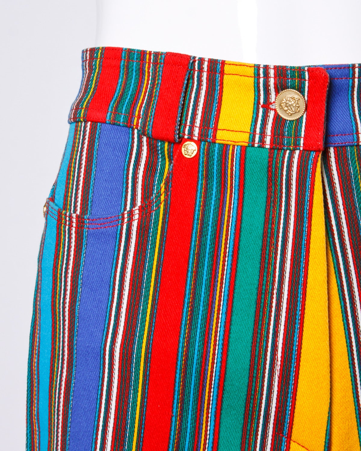 1993 Unworn Gianni Versace Couture Vintage Shorts as Worn by Naomi Campbell 4