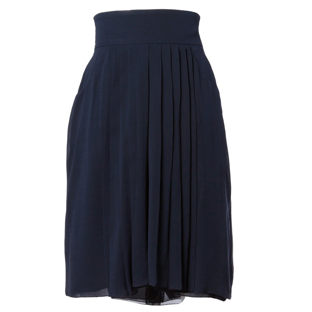 Boohoo Chiffon Pleated Midi Skirt ($20, originally $40).