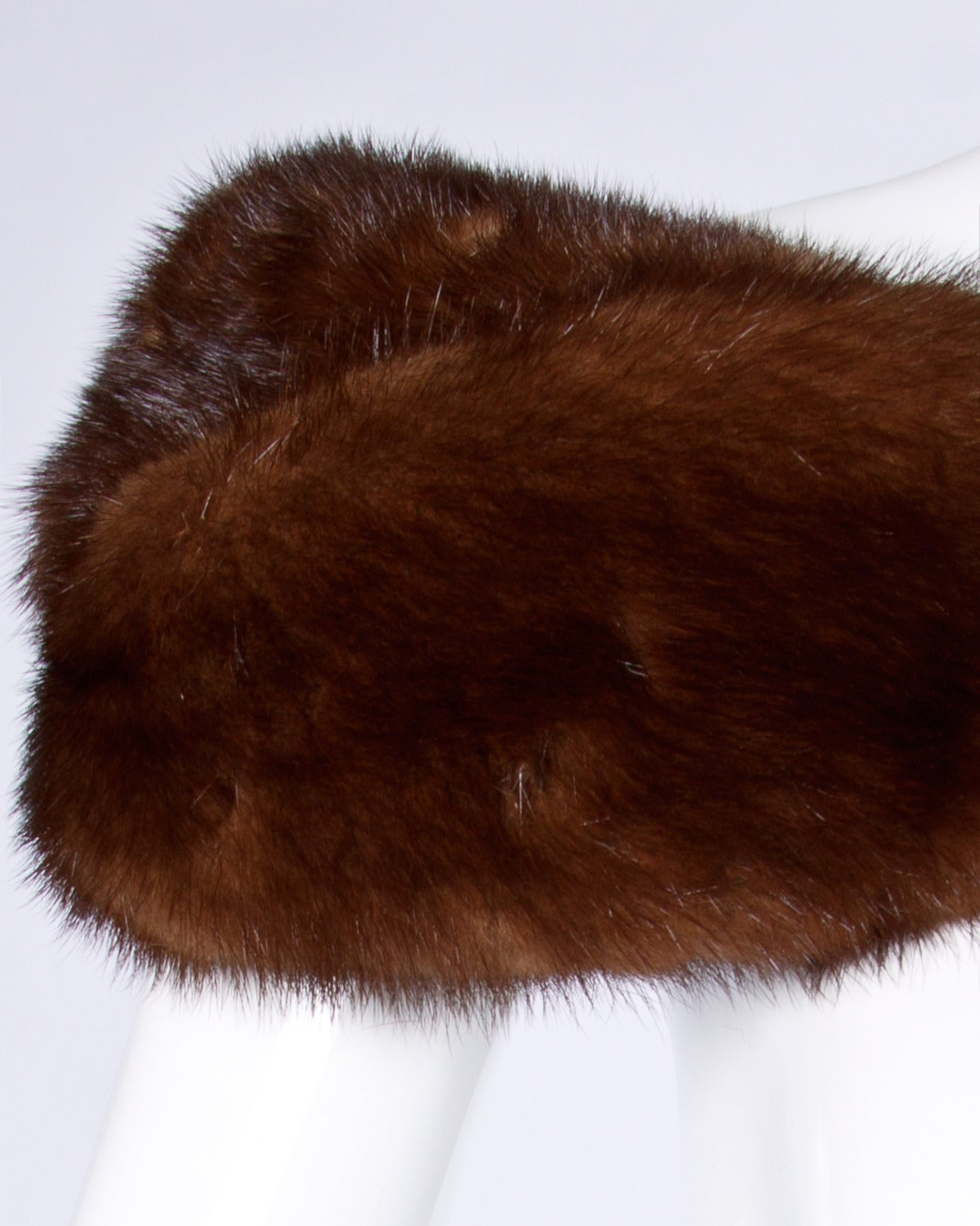 Vintage Mink Fur Shoulder Wrap or Stole 4