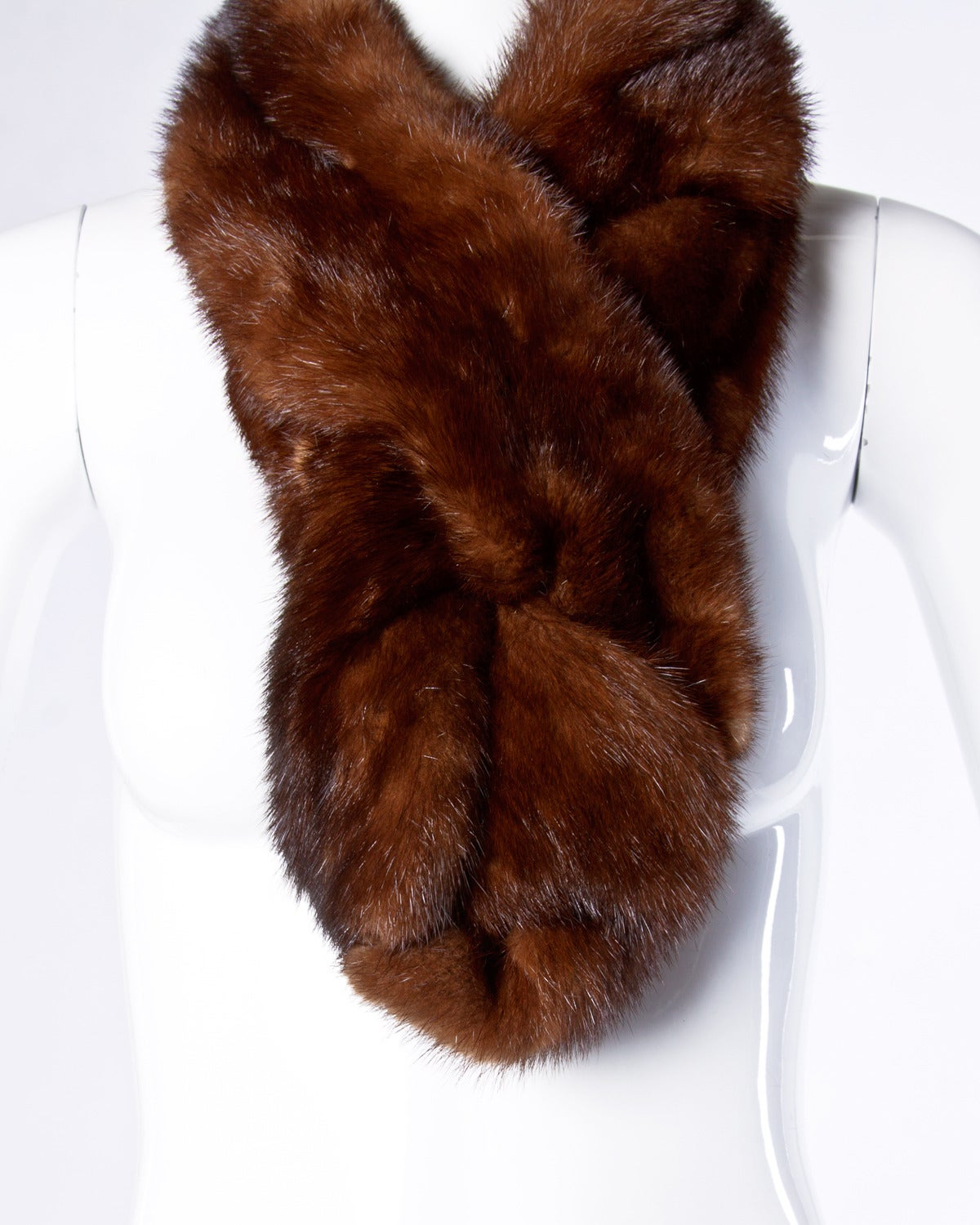 Vintage Mink Fur Shoulder Wrap or Stole 3