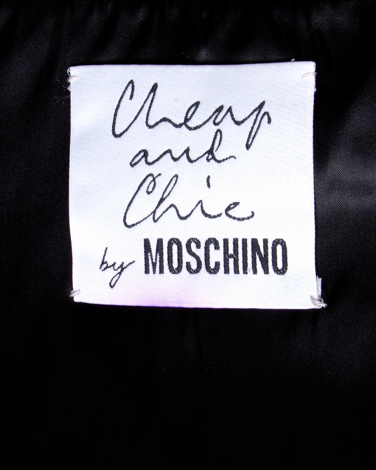 Moschino Vintage 1990s 90s Black Leather Skirt with Heart Belt Buckle 7