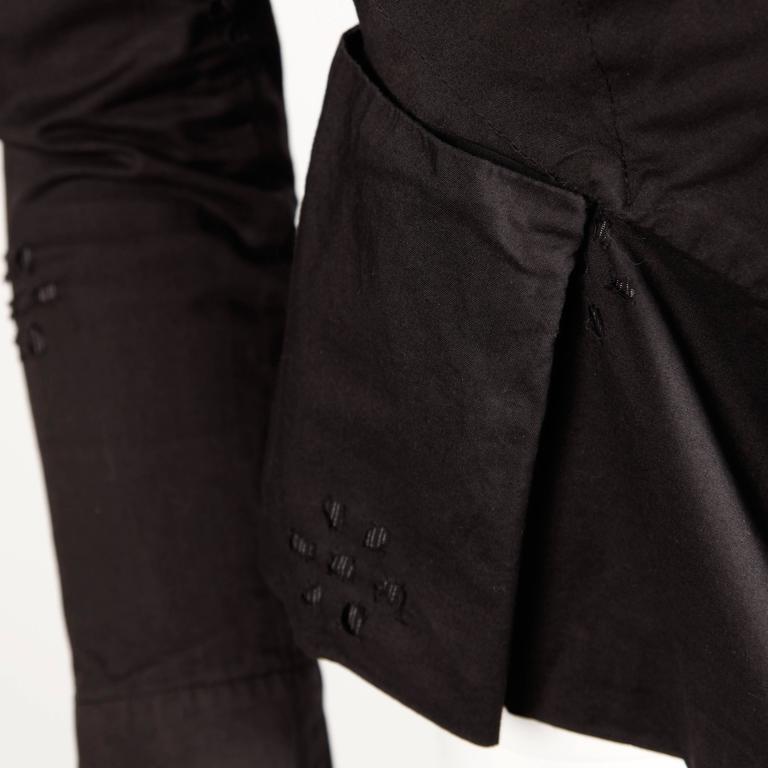 Unworn Vivienne Westwood Anglomania Black Eyelet Jacket with Original Tags For Sale 1