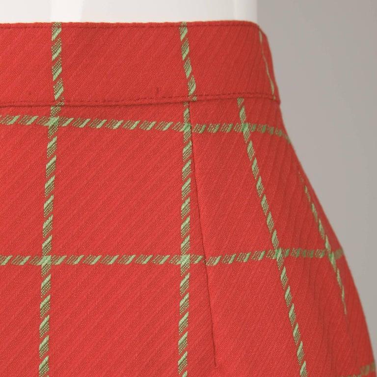 Women's 1980s Bernard Perris Vintage Wool/ Cashmere Jacket + Skirt Suit Ensemble For Sale