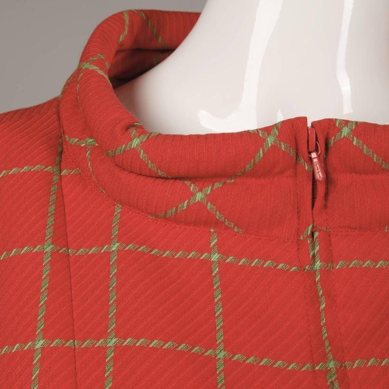 1980s Bernard Perris Vintage Wool/ Cashmere Jacket + Skirt Suit Ensemble For Sale 2