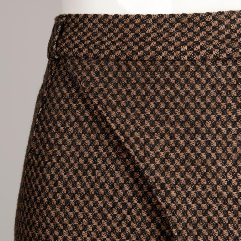 Philippe Dalma Paris Vintage Avant Garde Pencil Skirt- 1980s France For Sale 1